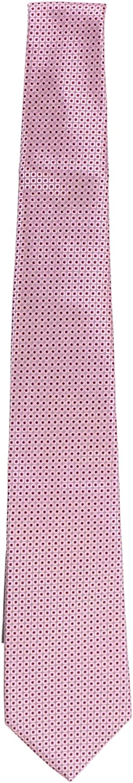 Canali Men's Purple/Black Micro Square Pattern Necktie