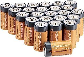 AmazonBasics Everyday alkalinebatterijen, type C, 24 stuks