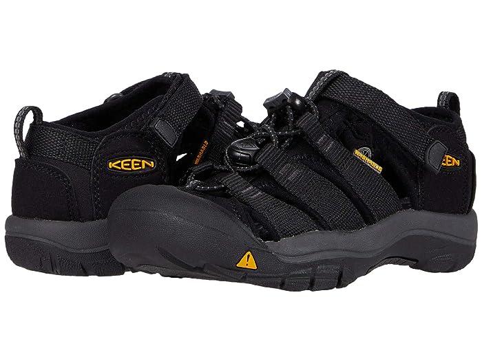 Keen Kids  Newport H2 (Toddler/Little Kid) (Black/Keen Yellow) Kids Shoes