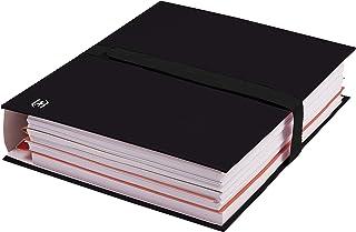 OXFORD Lot de 10 Chemises à Sangle Grande Capacité 24x32cm Dos Extensible 13cm Fermeture Scratch Couverture Carte 10/10ème...
