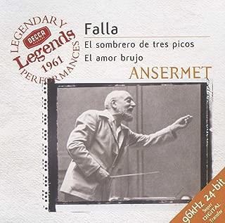 Falla: Three-Cornered Hat / Ansermet, Berganza
