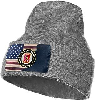 FORDSAN CP US Army 72nd Field Artillery Brigade Veteran Mens Beanie Cap Skull Cap Winter Warm Knitting Hats.