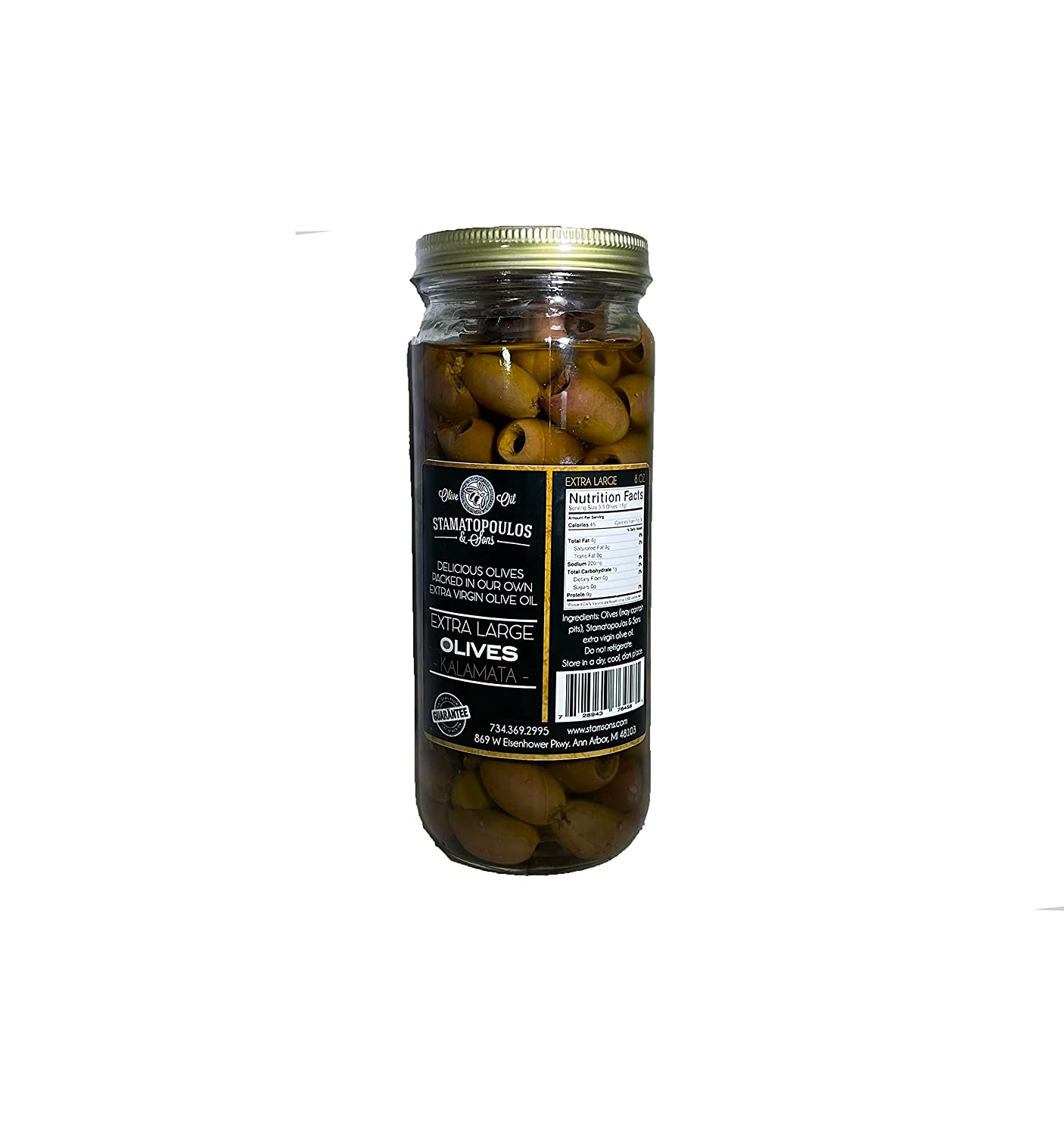 Max 69% OFF Stamatopoulos Sons Challenge the lowest price of Japan Pitted Kalamata Olives Marinated Certifi in