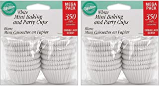 2-PACK - Wilton Baking Cups, Mini, White, 350-Count