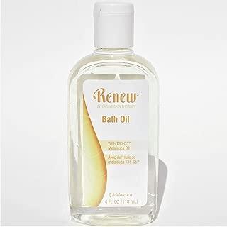 Melaleuca Renew Intensive skin therapy Bath Oil/Terapia intensiva para la piel aceite de baño 118 ml con Aceite de árbol de Té
