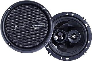 Memphis Audio PRX603 Power Reference 6.5 Inch 3 Way 50 Watt RMS 100 Watt Peak Power Car Audio Coaxial Speaker System photo
