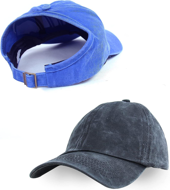 Backless Ponytail Hat for Women Adjustable High Messy Bun Pony Baseball Cap