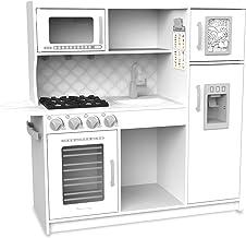 Melissa & Doug Wooden Chef's Pretend Play Toy Kitchen – White