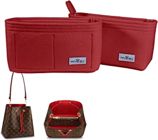 Bag Organizer, bag Shaper, Purse Insert, Felt Organizer, Fit in LV Neonoe and other Bucket Bags.