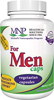 Michael's Naturopathic Programs for Men - 90 Capsules - Daily Multivitamin - Includes Support for Prostate and Testosteron...