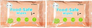 PurSoft Food-Safe Wipes, 20 ct (Pack of 2)