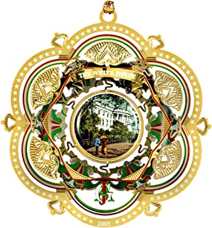2005 White House Christmas Ornament, The South Facade