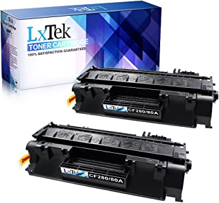 LD Comp Replacements for HP 80A CF280A 2pk Black Pro 400 M401 M425dn