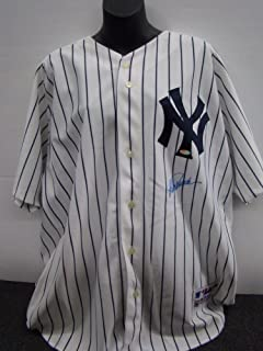 Jorge Posada Autographed Signature Jersey New York Yankees MLB And Steiner Certified