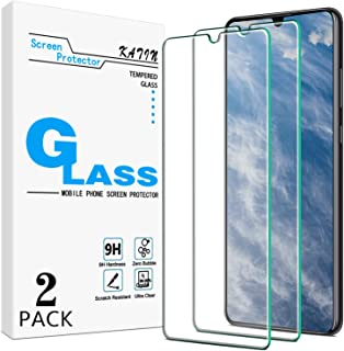 [2-Pack] KATIN For Huawei P30 Tempered Glass Screen Protector No-Bubble, 9H Hardness, Easy to Install
