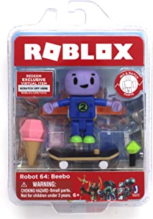 Roblox Robot 64: Beebo Single Figure Core Pack with Exclusive Virtual Item Code