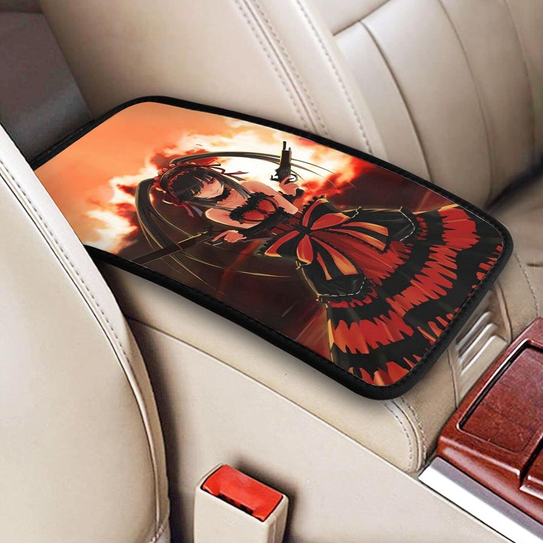 New popularity Special Campaign Date A Live Auto Center Console Armrest Pad Kurumi Tokisak Cover