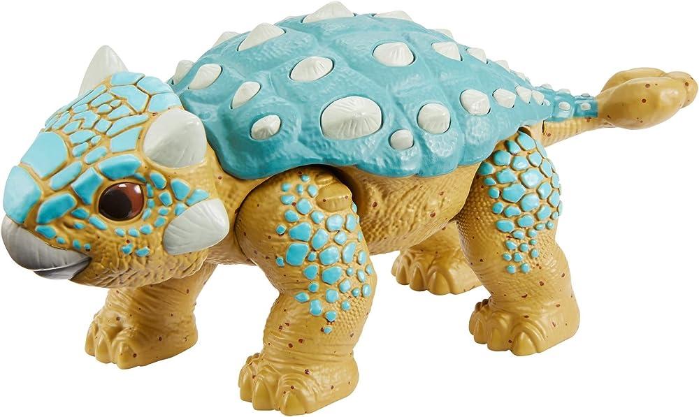 Mattel jurassic world,ankilosauro bumpy GMP71