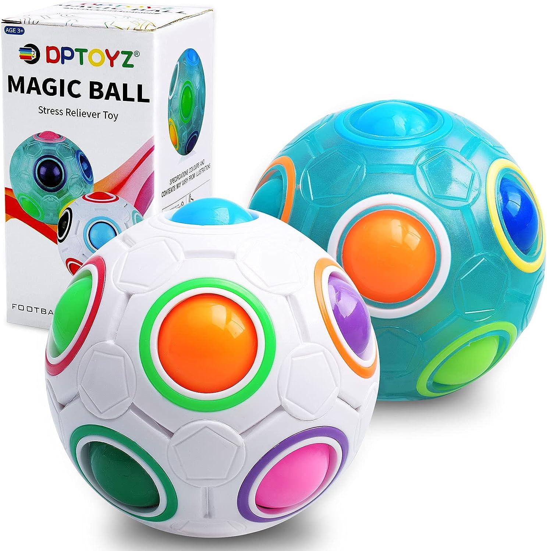 DPTOYZ Rainbow Puzzle Ball Sacramento Mall Fidget Color-Matching Max 67% OFF Game Toy