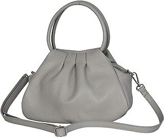 AmbraModa GLX13 - Bolso de mano bolso de hombro para mujer de piel