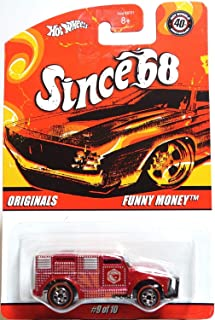 Hot Wheels Funny Money Since 68 Originals Series 1:64 Scale Collectible Die Cast Car Model #27/39