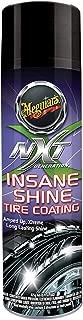 Meguiar's NXT Generation Insane Shine Tire Coating – Aerosol Spray for Insane Gloss – G13115, 15 oz