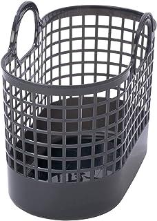 ライクイット (like-it) ランドリー 洗濯 収納 タウンバスケット ミニ グレー LBB-16C バイオマスプラスチック 約90%使用