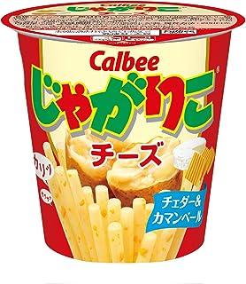 Calbee JagaRiko cheese 58g ~ 12 cup
