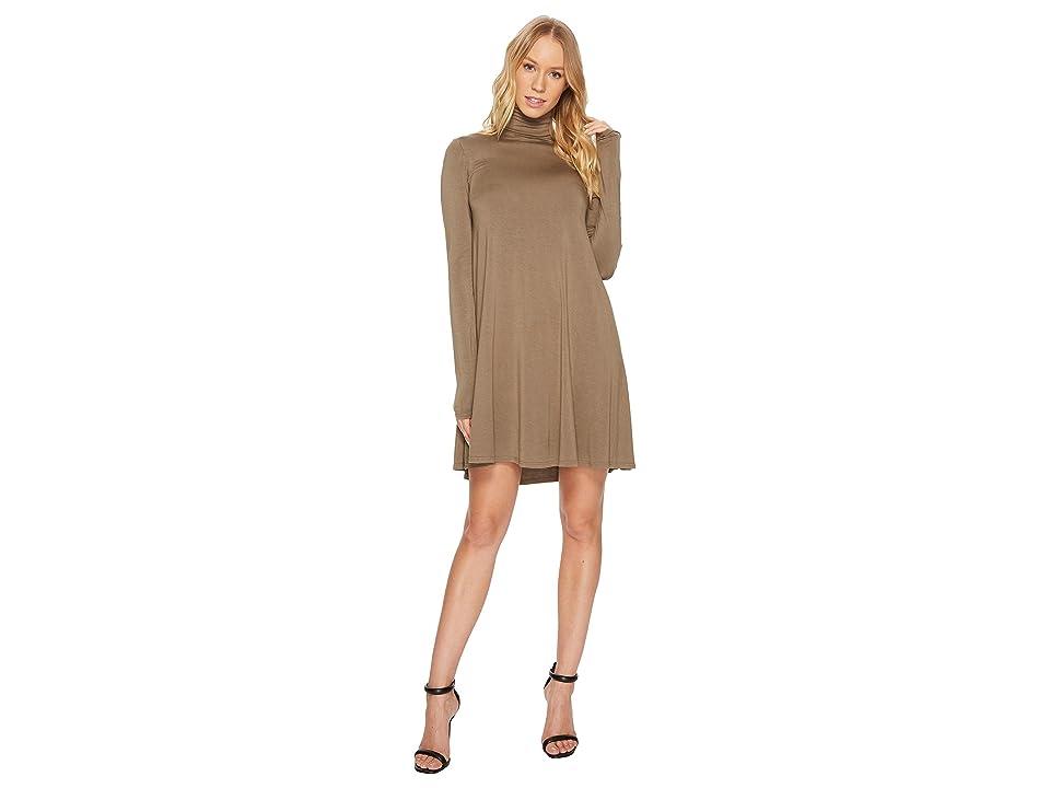 LAmade Penny Turtleneck Dress (Musk) Women