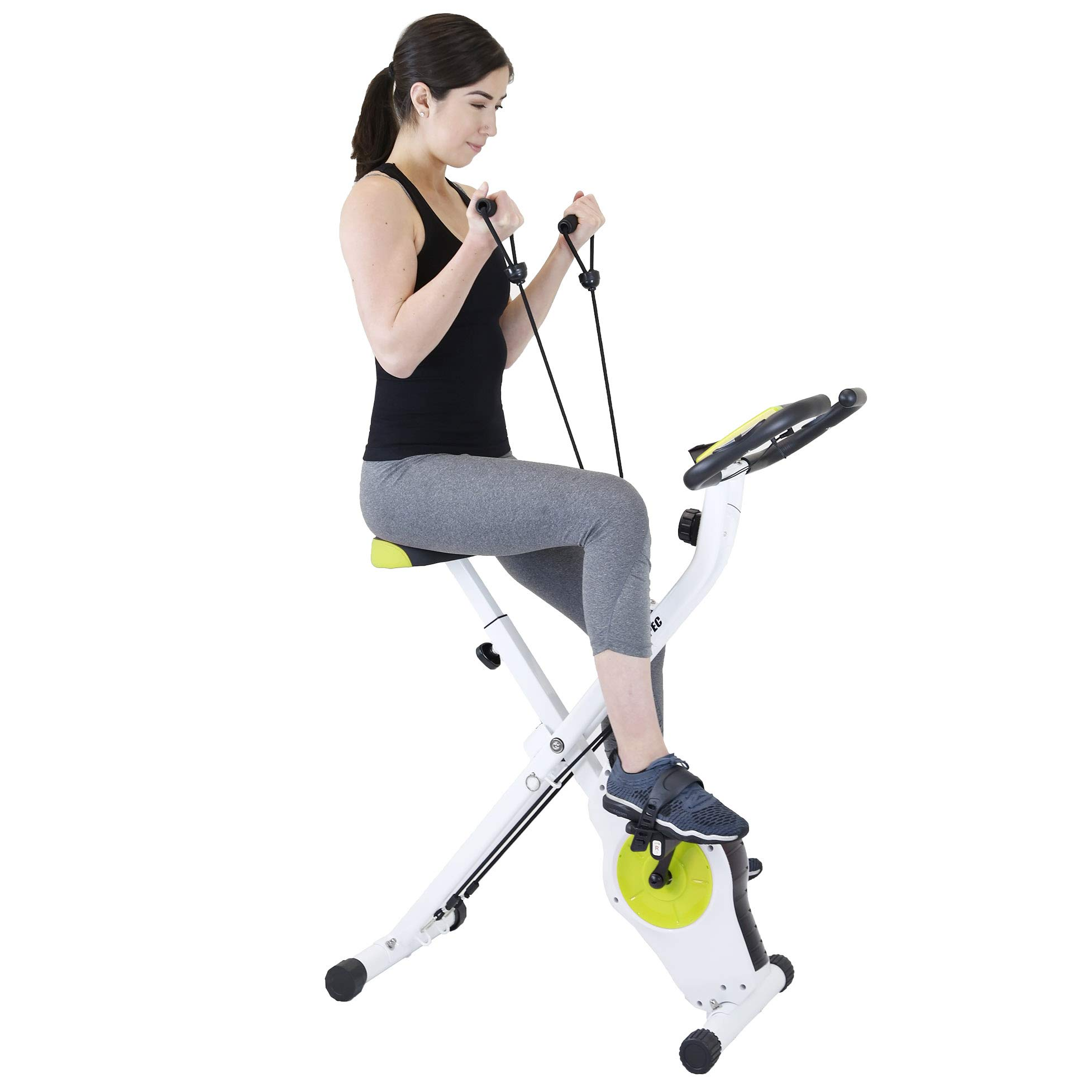 Xspec Foldable Stationary Exercise Magnetic