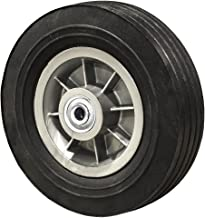 "8"" Flat Free Hand Truck Tire - Wheel 8"" x 2.5"" - 2.5"" Centered Hub - 3/4"" Axle Bore - 450 lb"