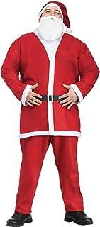 Fun World Costumes Men's Plus-Size Plus Size Adult Pub Crawl Santa Suit