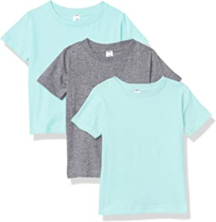 Marky G Apparel Baby Fine Jersey Short-Sleeve Crew-Neck T-Shirt (Pack of 3)