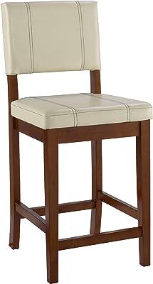 Amazon Com Linon Home Decor Milano Bar Stool 30 Inch Furniture Decor