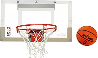 comprar comparacion Spalding NBA (56-100Cn) Minicanasta con Pegatinas, Unisex Adulto, Transparente, Talla Única
