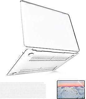 """B BELK Funda MacBook Air 13 Pulgadas 2020 2019 2018 con Protector Teclado EU para Carcasa MacBook Air 13"""" con Touch ID y P..."""