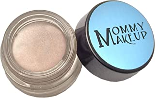 Any Wear Creme in Crystal (a pale shimmering pewter) - The ultimate multi-tasking cosmetic - Smudge-proof Eye Shadow, Cheek Color, and Lip Color all-in-one by Mommy Makeup