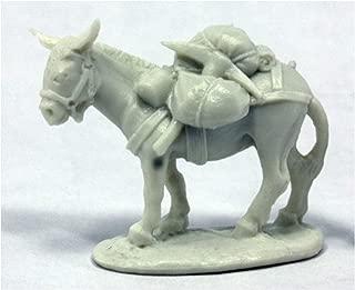 Reaper Miniatures Pack Donkey #77402 Bones RPG Miniature Figure