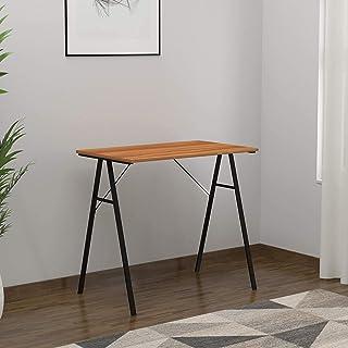 @home by Nilkamal Wood Melamine Finish Finley Study Desk (Teak)