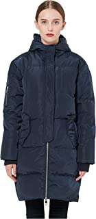 Orolay Women's Thicken Plus Size Down Jacket Hooded Coat
