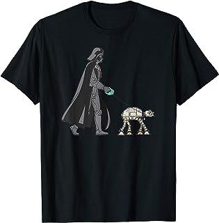Star Wars Darth Vader the Dog Walker Meme Camiseta