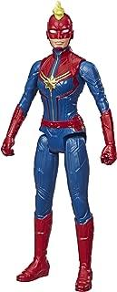 Avengers Marvel Titan Hero Series Blast Gear Captain Marvel Action Figure