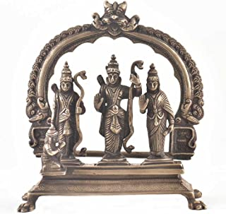Indianshelf Handmade Brass Ram Darbar Statues Decoration Designer Vintage Statement Pieces Online New