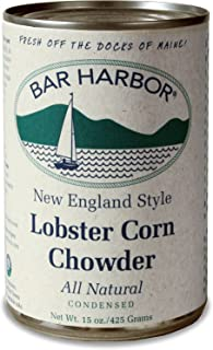 Bar Harbor Chowder, Lobster and Corn, 15 Ounce