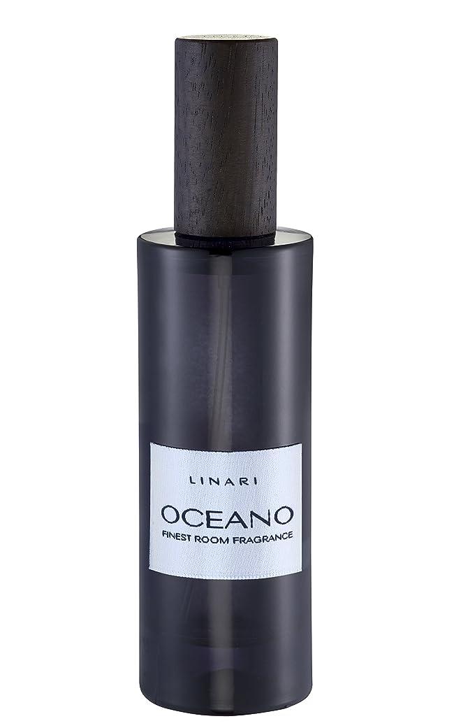 ベッドを作るプレゼンテーション王女LINARI リナーリ ルームスプレー Room Spray オセアノ OCEANO BLACK AMETHYST LINE