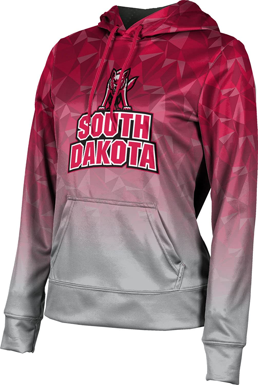 University of South Dakota Girls' Pullover Hoodie, School Spirit Sweatshirt (Maya)