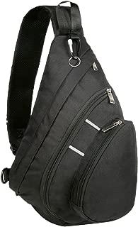 Bekahizar Sling Bag Backpack Crossbody Chest Shoulder Pack for Outdoor Men Women