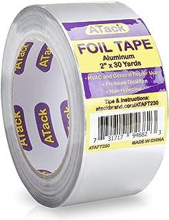 ATack Aluminum Foil Reflective Duct Tape, 2
