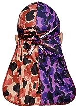 FancyCOCO Designer Durag | Customs Two-Tone Designer Durags,Fanshion Du Rag for 360/450/720 Waves,Waver Cap