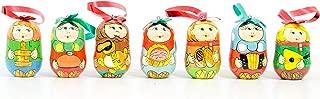 babushka christmas ornaments